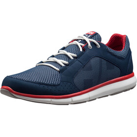 Helly Hansen Ahiga V3 Hydropower Shoes Herrer, navy/flag red/off white